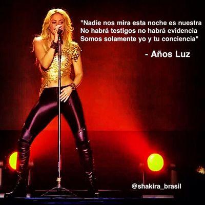 Años Luz - ShakiraLyrics Shakirabrasil