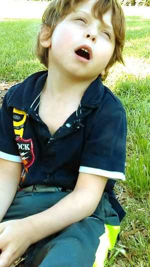 Chase at the park. Park Fun Childhood Grass Portrait Close-up Nature Boys Boys Boys