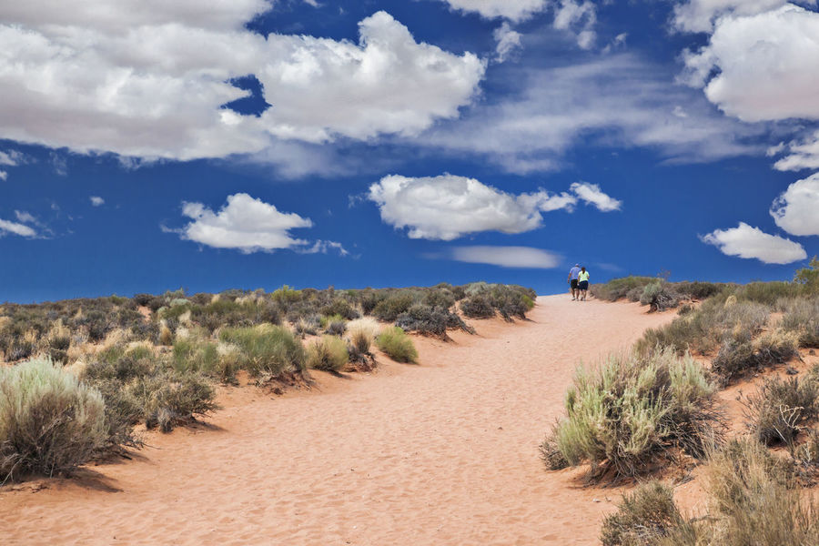 On the way to Horseshoe Baye Arid Climate Day Desert Desolate Scene Geology Geology Horizontal Composition Nature Physical Geography Rock Rock Formation Sand Tranquility Travel Vacations Arid Climate Horseshoe Bay Outdoors Tranquil Scene USA Vacation