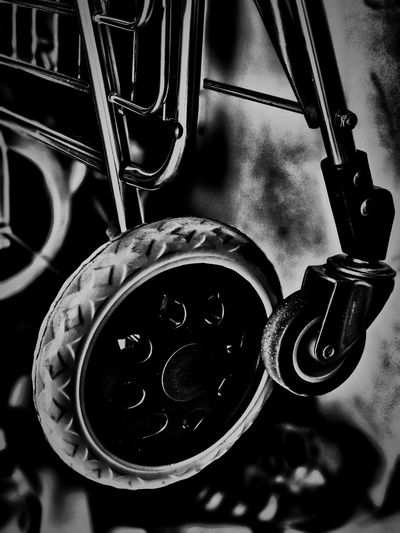 WHEEL IT. Old-fashioned No People Close-up Technology Indoors  Day Wheel Trolley Trolleys Supermarket Monochrome Monochrome Photography Black And White Blackandwhite Black & White Black And White Photography Shadow Shadows & Lights Shadowplay Light And Shadow B&w Wheels Wheeling Contrast Abstract Photography
