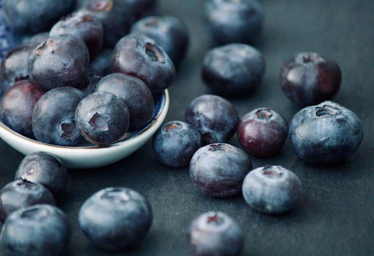 Blueberries from the garden