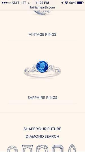 Hmm... Sapphire Ring