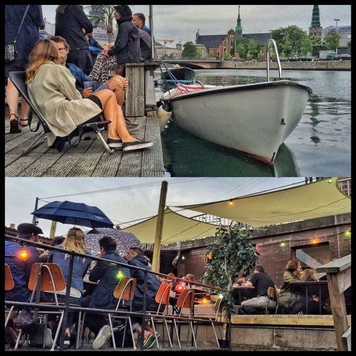 Kajakbar Copenhagen Denmark Hanging Out Relaxing Restaurant Coffeshop Summer In The City Water_collection Cosy