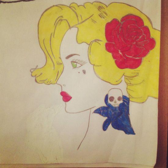 Cool Tatoo Girl Draw