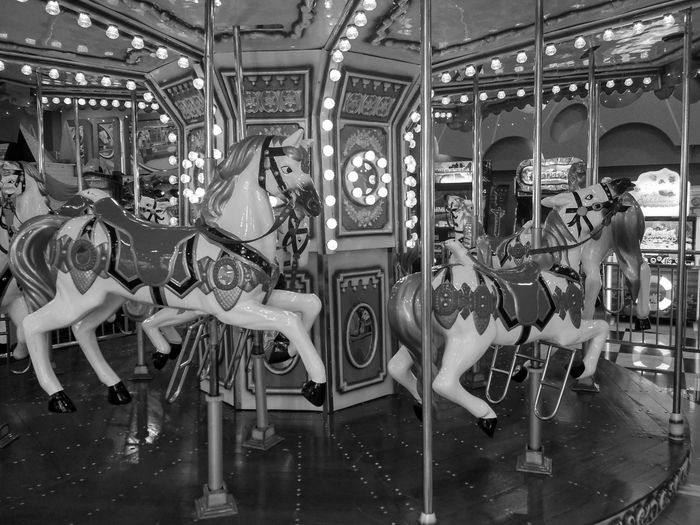 Adventures In The City Carousel Merry-go-round Amusement Park Ride Arts Culture And Entertainment Carousel Horses Amusement Park Illuminated Enjoyment