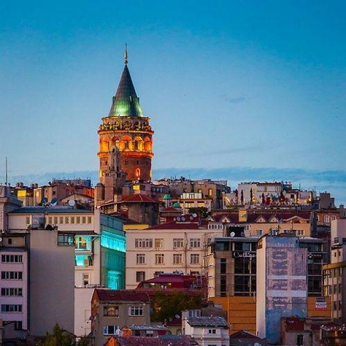 Istanbul Galatatower Galatakulesi Architecture architech mimari taksim istiklal hdr hd color awesome city light
