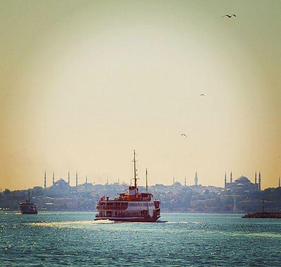 ıstanbul Turkey Silhouette Vapur PhotoByMuratGul