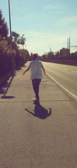 Skateboarding Hot Summer Kill Me