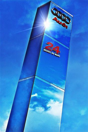 Mirror Sky Blue Sky Cobalt Blue By Motorola Circuit des 24H du Mans