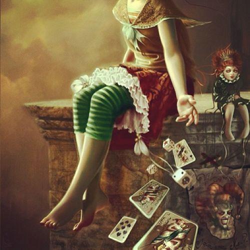 Tarotchild Tarot Tarotcards Tarotreader tarotreading dice mask masque masquerade masquerademask masqueradedoll porcelainedoll gypsy fortuneteller fortunetelling gift power psychic