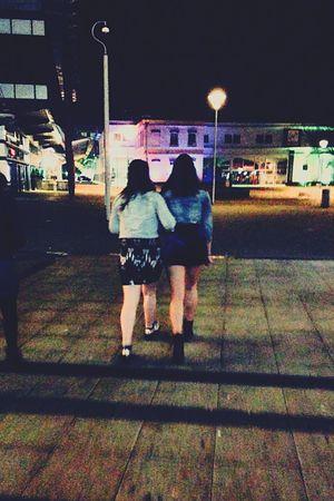 Night Friends ❤ Legs