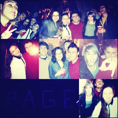 RAGE! Yay no school tomorrow, I love each and everyone of these people <3 don't know what I would do with them, after party because 6 was lameeee #Bestfriends #Live #Laugh #Love #Rage #Austin #FavOrite #Frat #NewFriends #Hawt #Dance #Atx #UT #HookEm #NoSc
