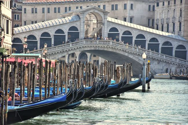 Water Bridge Streetphotography Summer Gondole In Venice Gondola Gondola - Traditional Boat Water Nautical Vessel Flood Cultures Ancient History Arch Gondolier Architecture Canal