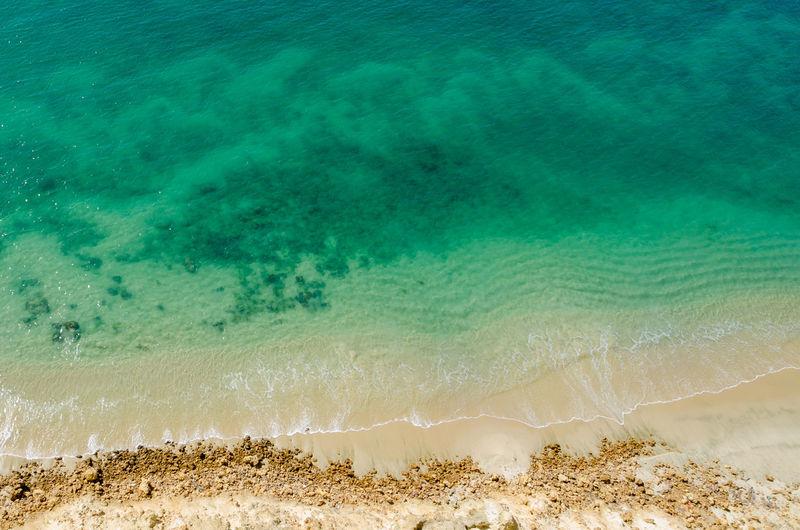 Close-up of beach