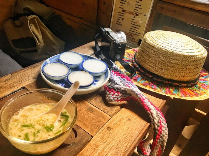 Hat Table Food