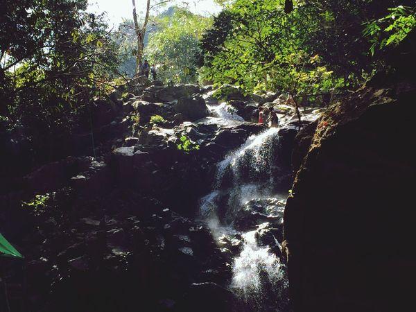 Life Nature Photography Kyitehteeyoe Waterfall Sunshine