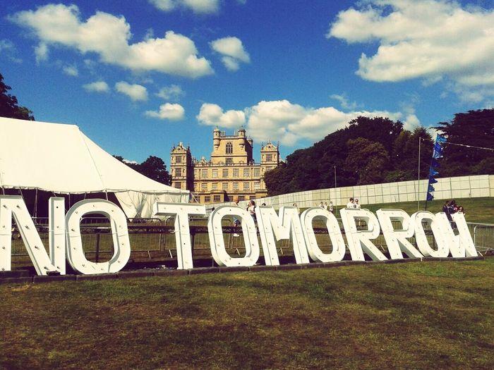 No Tomorrow Festival Nottingham