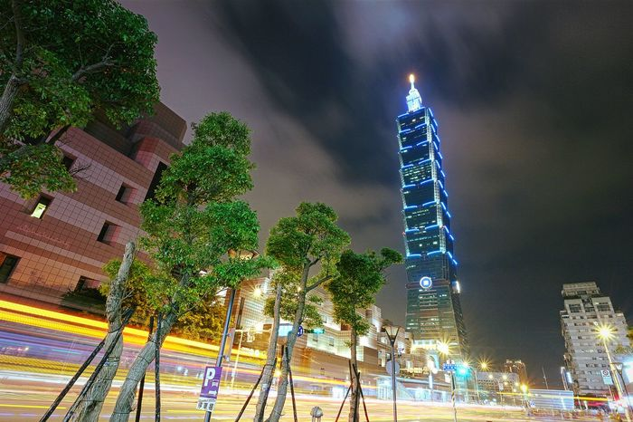 星期五的101是藍色的 Night Night View Night Photography Nightshot Nightlights 101 Taipei Taipei 101 EyeEm Taiwan