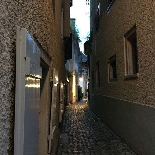 Gasse in Zürich