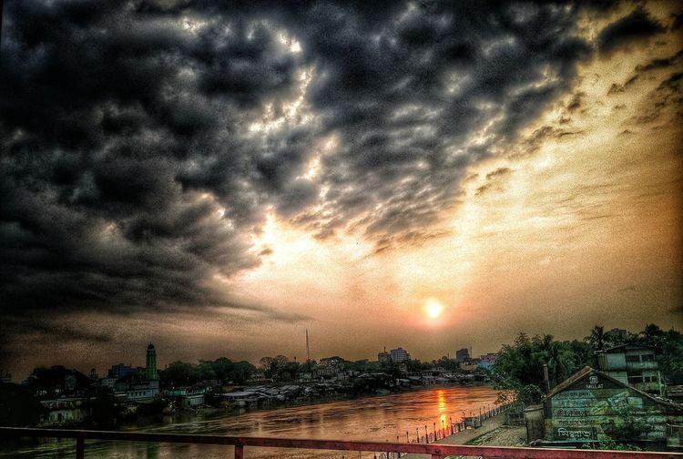 Sunrise Sylhet Surma River