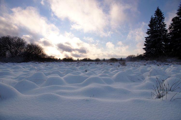 Landscape Cloud - Sky Nature Scenics No People Winter Tranquility