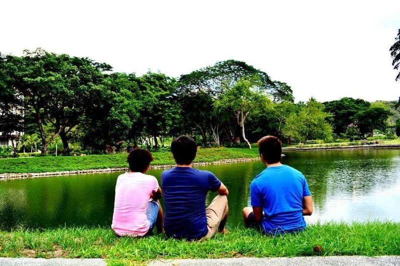 Beauty In Nature Friendship Grass Leisure Activity Men Nature Real People Sitting Togetherness Tree The Week On EyeEm