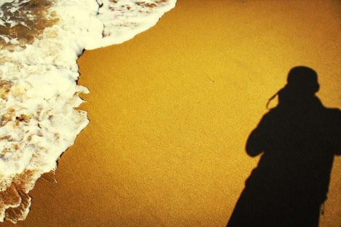 撮るのに夢中でした。この後どうなったかは、ご想像におまかせします(笑) Shadow Selfportrait 波 暇人