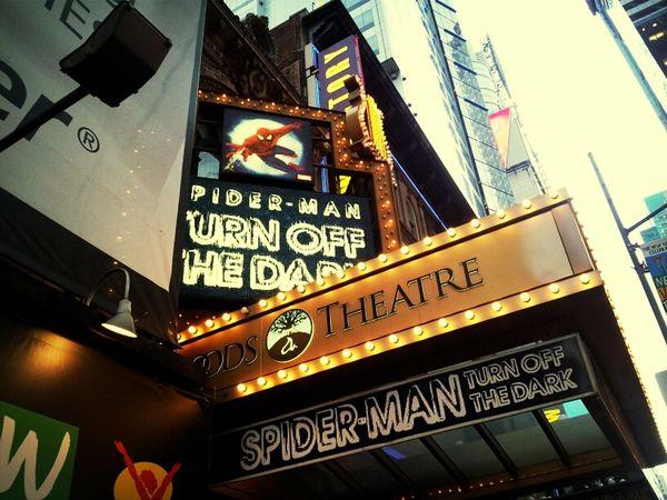 Spider Man On Broadway