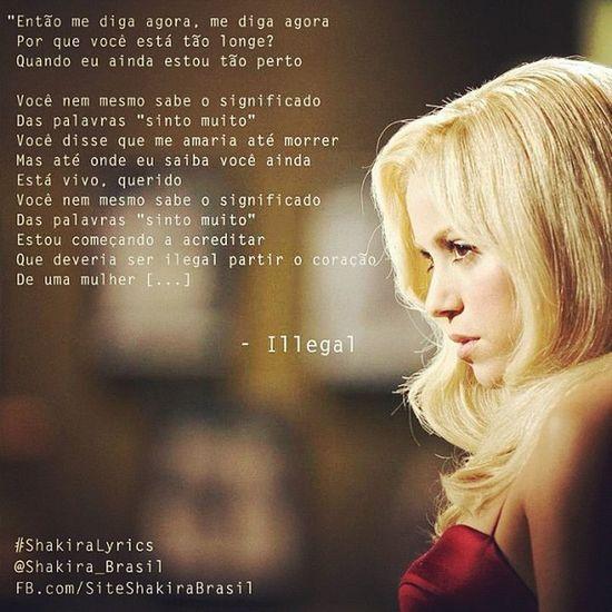 ShakiraLyrics - Illegal