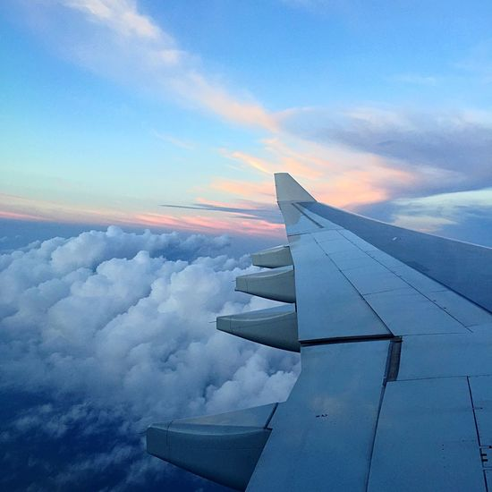 Because every road as a beginning, a middle and an end. Here's to your love for me. 💙 Inlovingmemory Love Skies Pretty Check This Out Plane