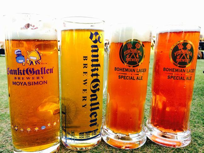 なつのおもいで は人の数だけあると思いますが、 オクトーバーフェスト Octoberfest で飲む ビール Beer が上位に来てしまう。(笑)