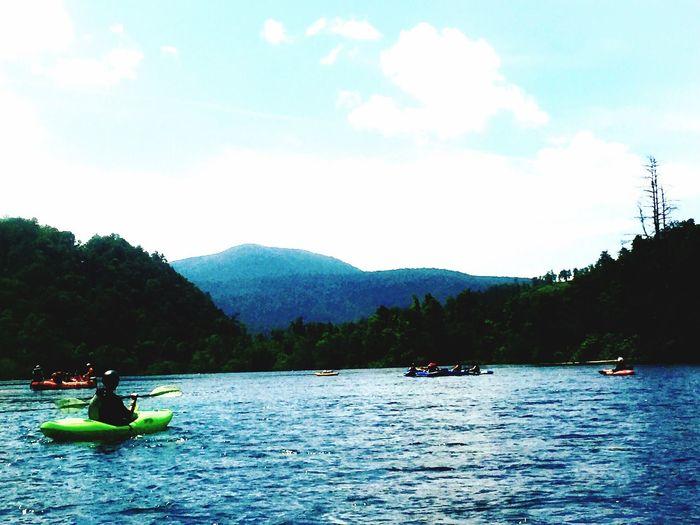 Summer Views EyeEm Nature Lover EyeEm Kayaking Becauseimhappy SoberLife  Tennessee Hiwassee River Mothernature Getoutside