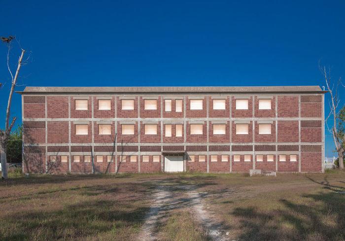 Abbandoned Architecture Building Exterior Built Structure Façade Old Buildings Simmetrical Building