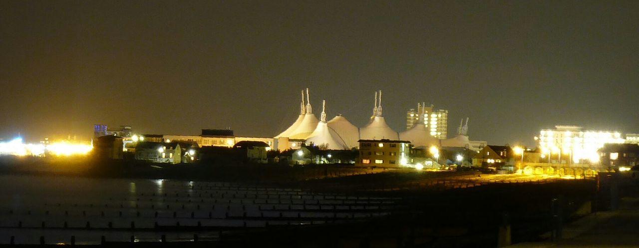 Nightlife Bognor Central Bv Night Party On The Pier Bognor Towers Butlins Light Pollution Felpham Looking At Bognor
