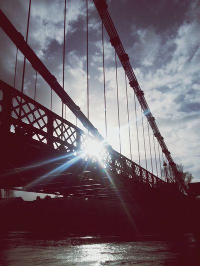 Stunning bridge and sunshine..