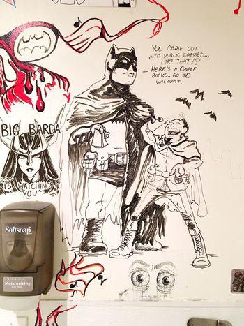 Big Barda Batman And Robin Batman Robin Fantom Comics Fantom Dc Check This Out Hanging Out DC Comics Taking Photos Enjoying Life Showcase April DupontCircle Check This Out Graffiti Illumination Illustration Comic Art