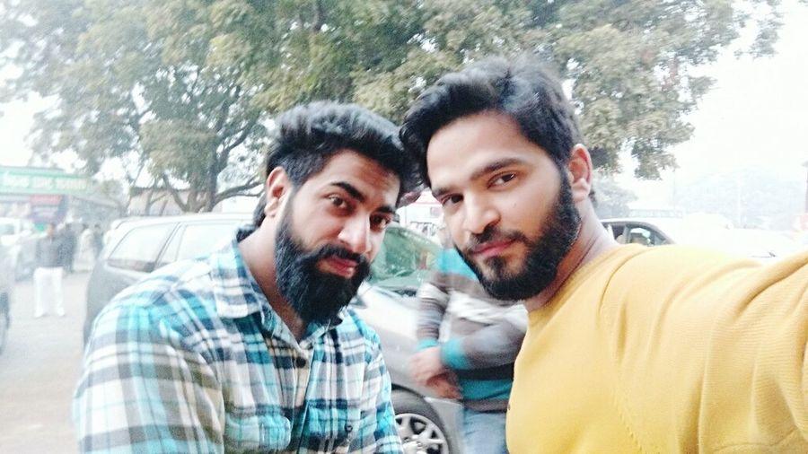 Friendship Beard On Office Trip