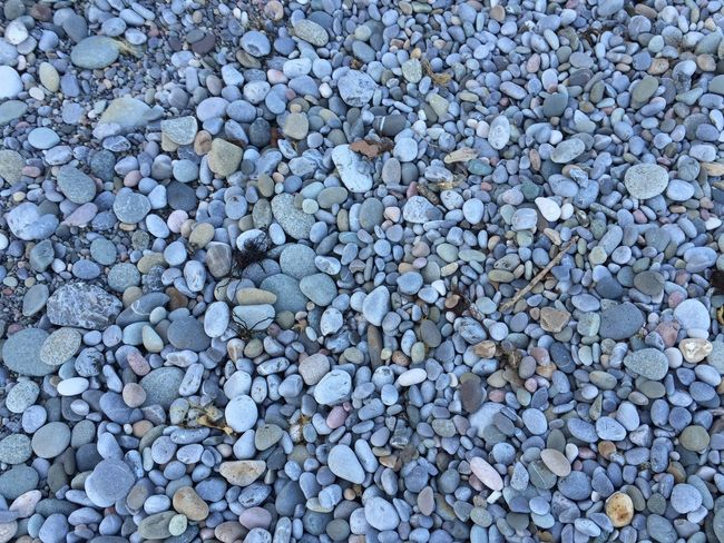 Backgrounds Pebble Full Frame Stone - Object Large Group Of Objects Beach Blue Day Nature Multi Colored Tranquility Beauty In Nature Vacations Shore Non-urban Scene Grey Extreme Close Up No People Tranquil Scene