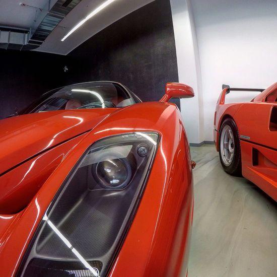 Ferrari Enzo Red Taking Photos Hello World Germany Köln Amian Car Cars Supercar