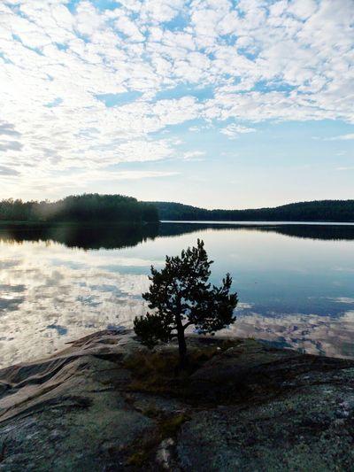 карелия лето путешествие природароссии Nature Traveling Sky Alone Landscape Starting A Trip