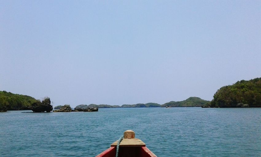 Who cares about finals when you can just island hop. XD Hundred Islands  Boat Island Sea Sky Eyeem Philippines Pangasinan Alaminos City Travel EyeEm Nature Lover