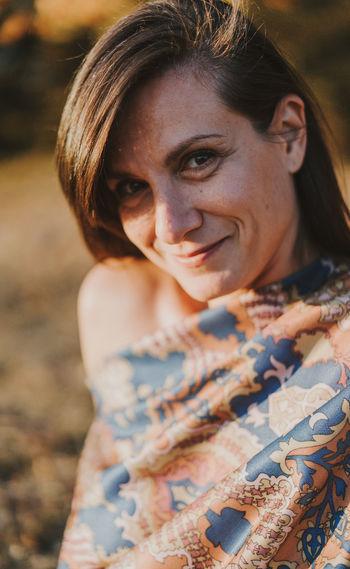 Claudia A smile