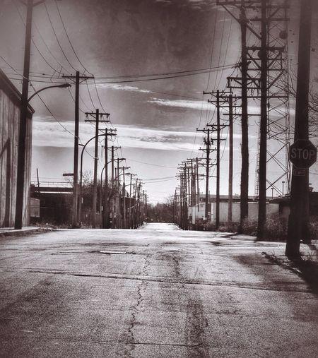 On the road to nowhere Monochrome Saint Louis Urban Urban Exploration