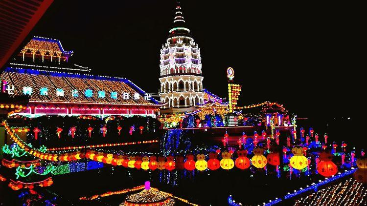 #penang #malaysia #cny #Night #light #travel Illuminated