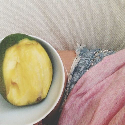 i post a lot of food pictures but..... ohwell Mango Is Life