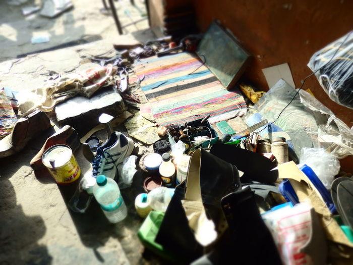 India Repair Shop Indoors  No People Professional Retail  Rishikesh Shoes Store