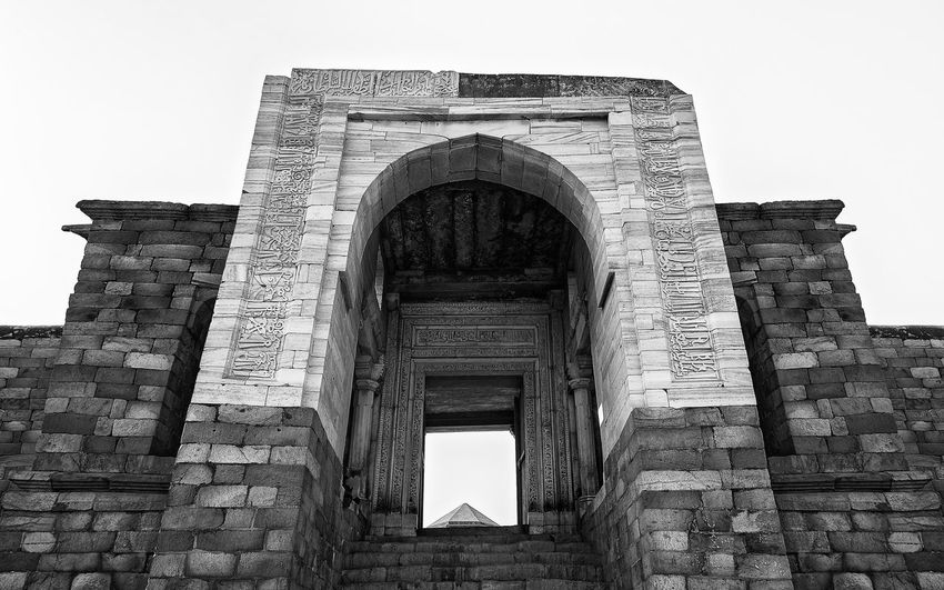 This image is part of my ongoing project covering the last resting places of Delhi Sultanate. Delhi Sultanate Delhi Sultanate Monochrome Travel Ancient Civilization City Ancient History Façade Old Ruin Sky Architecture Building Exterior Built Structure Tomb Civilization Grave Mausoleum Memorial Archaeology