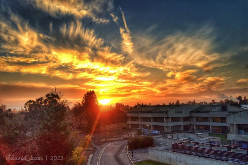 This morning's sunrise Prohdr Snapseed Palo Alto Vmware
