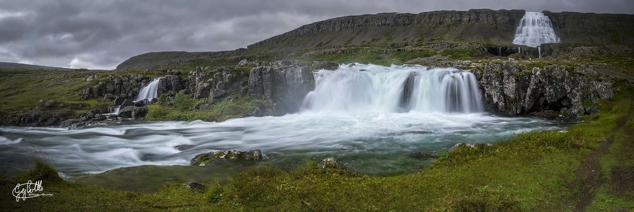 Dynjandi, West Fjords, Iceland Iceland Water_collection Waterfall The Great Outdoors - 2015 EyeEm Awards Panoramic EyeEm Masterclass Landscape_Collection Hdr_Collection EyeEm Best Shots The Traveler - 2015 EyeEm Awards