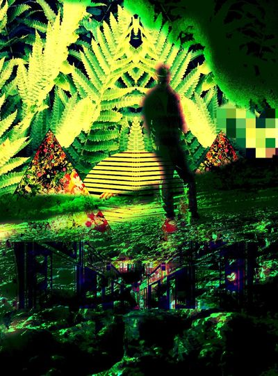 In Search Of Greener Pastures Flaura And Fauna for the love of Green Green Green!  Ghostly Jungle Beat
